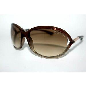 Tom Ford Jennifer Women's Havana Oval Sunglasses